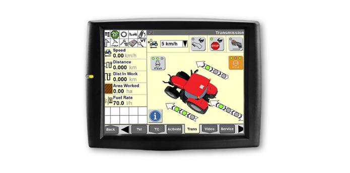 AFS PRO 700 žemės ūkio technikos monitorius