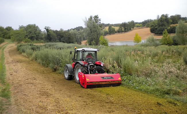 Augalinių liekanų smulkintuvai Kverneland FXN-FHP-FRD