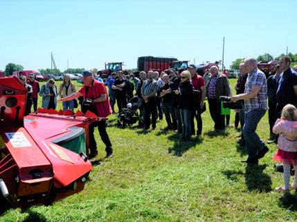 Pašarų ruošimo sezonas pradėtas ir Kupiškio rajone
