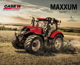 Case IH Maxxum Multicontroller serija 116 - 145 AG