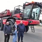Birštono savivaldybės ūkininkai Jonas ir Justinas Gradeckai