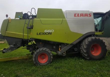 Claas Lexion 660 naudotas javų kombainas