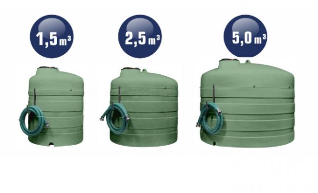 Dvisienės skystųjų trąšų talpos SWIMER AGRO Tank