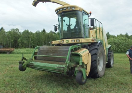 Krone BIG X 500 naudotas javų kombainas