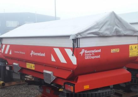 Kverneland EXACTA-TL GEO spread naudota pakabinama trąšų barstomoji