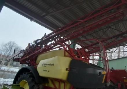 KVERNELAND IKARUS S38 naudotas prikabinamas purkštuvas