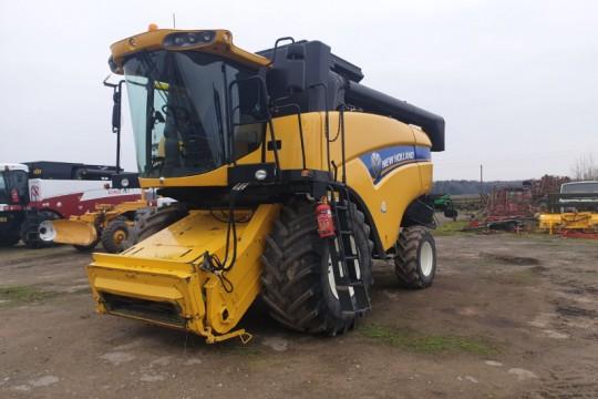 New Holland CX6080 naudotas javų kombainas