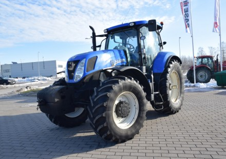 New Holland T7.260 naudotas traktorius
