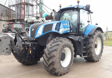 New Holland T8.390 naudotas traktorius
