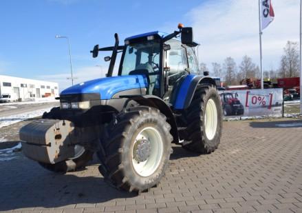 New Holland TM165 naudotas traktorius