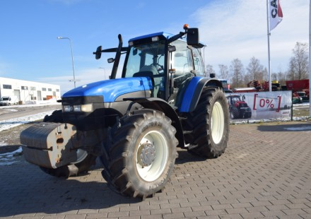 New Holland TM165 naudotas traktorius
