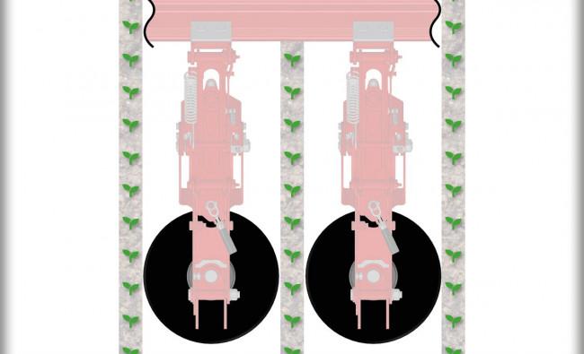 Tarpueilių kultivatoriai Chopstar