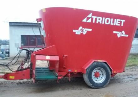 Triolet Solomix 2 - 1600 naudotas pašarų maišytuvas - dalytuvas
