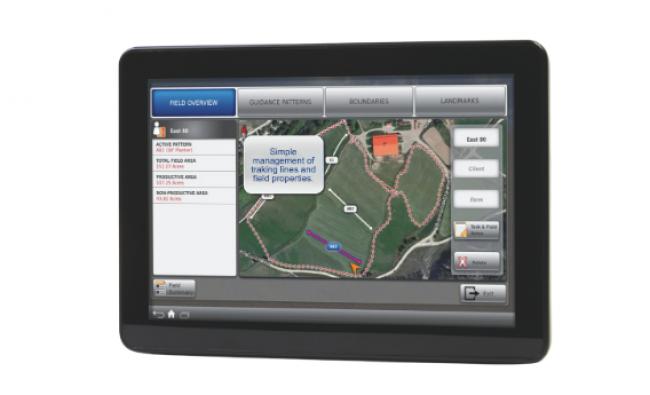 XCN-2050 žemės ūkio technikos monitorius