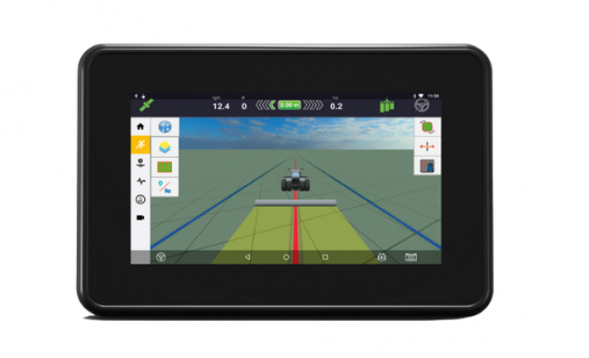 XCN-750 žemės ūkio technikos monitorius